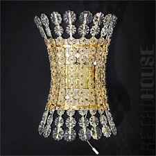 Emil Stejnar Mid-Century Wall Light Lamp Sconce Crystal Glass Brass 1950s