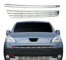 2008-2012 peugeot PARTNER TEPEE Chrome Front Grill 2pcs S.STEEL