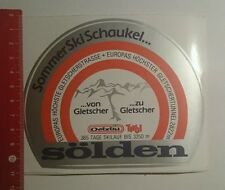 Aufkleber/Sticker: Sommer Ski Schaukel Sölden (281016107)
