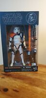 "Star Wars The Black Series 6"" Inch #03 Orange Line Sandtrooper Authentic"