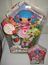 #2729 NRFB MGA Entertainment Lalaloopsy Rosy Bumps N Bruises & Mini Doll