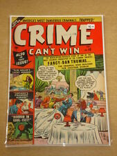 CRIME CAN'T WIN #43 VG+ (4.5) ATLAS COMICS FEBRUARY 1951