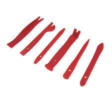Red High-Strength Nylon Car Door Panel Dash Trim Removal Pry Open Tool Kit 6pcs