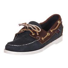 SEBAGO scarpa campionario shoes donna sample woman blu marrone EU 40,5 - 453 N32