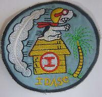 SNOOPY PATCH - 1st IDASC Direct Air Support Center USAF - Vietnam War - 8219