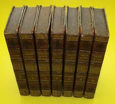 Voyage du jeune Anacharsis en Grèce ( Abbé Barthélémy ) 7 Tomes -complet - 1822
