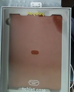 NEW Heyday Faux-Suede Case for 10.2-inch iPads Tablet in Tan