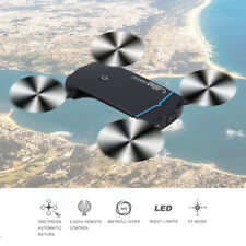 Foldable HD Camera Drone Wifi FPV App Control 2.4GHz RC Quadcopter Toy Gift