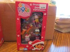 Dora the Explorer set of 5 mini ornaments NEW IN BOX #2
