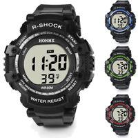 Fashion Men LED Waterproof Digital Quartz Military Luxury Sport Date Watches AU