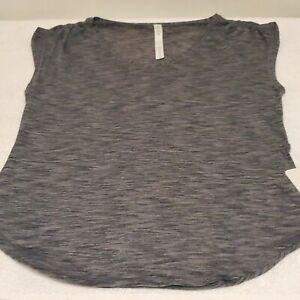 Lululemon Women NWT Sweat Times Short Sleeve Train Run Shirt Top New Sz 8 Black