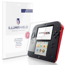 iLLumiShield HD Screen Protector w Anti-Bubble/Print 3x for Game Nintendo 2DS