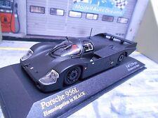 Porsche 956 L langheck homologation dans Black Matt Noir KYOSHO Minichamps 1:43