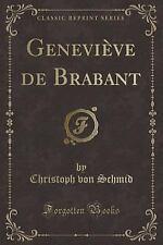 Genevieve de Brabant (Classic Reprint) (Paperback or Softback)