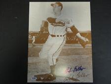 Bob Feller Signed 11x14 Photo Autograph Auto PSA/DNA AB76566