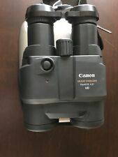 Canon 15x45 IS 6.5 degree UD EXC COND w/case/strap/batteries/manual orig box