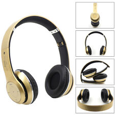 Bluetooth Wireless Stereo Foldable Headphones Headset Earphone Mic For iPhone