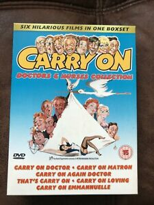 Carry On Doctors & Nurses Collection DVD Set