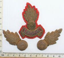 Royal Artillery Officers Bullion Cap & Collar Badges