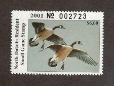 ND20 - North Dakota State Duck Stamp. Single. MNH. OG   #02 ND20