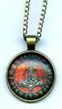 Halskette Thorhammer Thor Hammer Wikinger  Necklace Vikings Odin Mystik