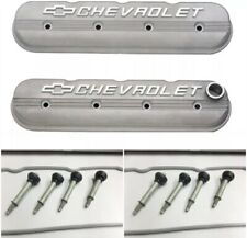 GM Performance Left & Right Cast Aluminum LS Valve Covers W/ Gaskets & Bolts