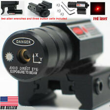 Tactical Red Laser Beam Dot Sight for Gun Rifle Pistol Picatinny Mount WP Top