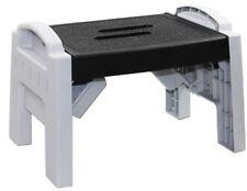 Strong & Durable Plastic Multi Purpose Easy Storage Foldable Folding Step Stool