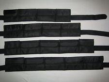!!! TOP ANGEBOT !!! schwarzer Taschenbleigurt Gr. L - Bleigurt mit PVC Schnalle
