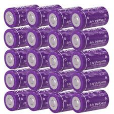20x 3.6V ER34615 19000mAh D Size High Energy Lithium Batteries for Heat Meter
