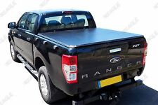 Ford Ranger T6 12on Soft Roll Up Tonneau Cover Eagle1 Soft Roll & Lock Bed Cover