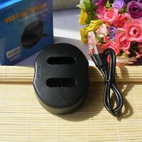 Dual USB Battery Charger for NPBX1 Sony DSC-H400 DSC-WX350 DSC-HX400 RX100 CX240