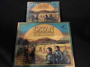 Settlers of Catan Cities & Knights - Plus Player Extension - Brand new sealed