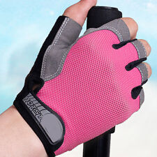 1Pair Gym Gloves Fitness Training Exercise Workout Weight Lifting Half Finger
