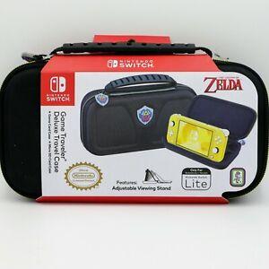Nintendo Switch Lite Game Traveler Deluxe Case Legend of Zelda Hyrule Shield
