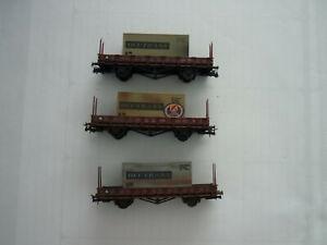 Piko Rungenwagen beladen mit Containern