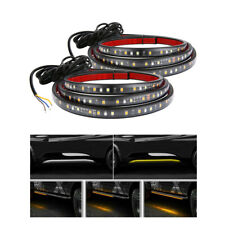 """LED Tail Light Strip 60"""" Running Board LED Strips Sequential Flowing Waterproof"""