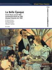 La Belle Epoque: French Music around 1900 Flute and Piano Woodwind NEW 049045054