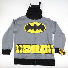 NWT Batman Full Zip Hoodie With Mask - DC Comics - Adult Large L