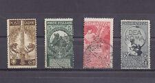 BB113-ITALIA-REGNO 1911 UNITA' D'ITALIA 4 VALORI
