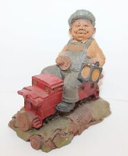 Collectible Gnome Figurine by Tom Clark 1986 Cab with Multi Coin