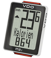 VDO m2.1 WL 30025 Analogue Wireless Bike Computer Speedometer Tachometer