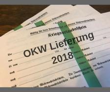 Reproduction WW2 German Leave Pass Kriegsurlaubsschein