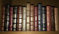 FRANKLIN LIBRARY and EASTON PRESS! Full Genuine Leather 14 Books,Some Shelf Wear