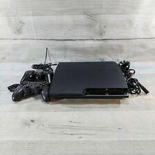 Sony PlayStation 3 - Slim 160GB Black Home Console Plus 8 Games