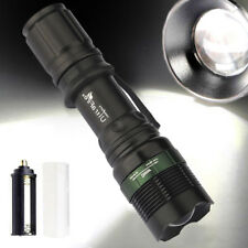 Ultrafire 12000LM XML T6 LED Flashlight Zoomable 18650 Tactical Torch Light