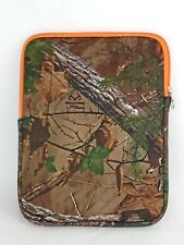"""NEW Realtree Xtra Colors 10"""" Tablet Sleeve Neoprene Cover Foam Protection"""