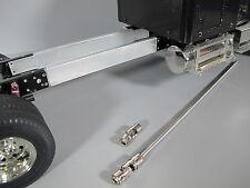 "Aluminum 6"" Frame Extension & Steel Drive Shaft Combo Tamiya RC 1/14 Globe Liner"