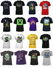 Minecraft Funny Survival Mode Creepers Soft Boys T Shirt Kids Youth Sizes GIFT