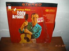 "Eddy Arnold - ""I'm Throwing Rice"" 1965 Vinyl LP, RCA Camden Blue Label SHRINK EX"